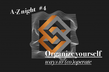 Organize yourself – Ways to (co)operate