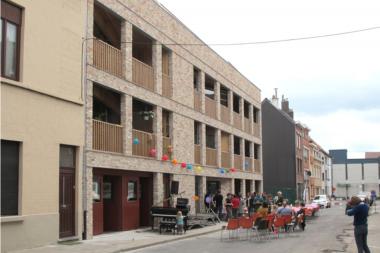 Gent, pionier collectief en coöperatief wonen