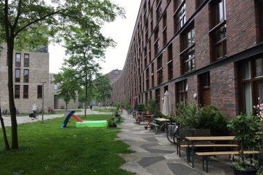 Funenpark, wonen in een autovrij binnengebied
