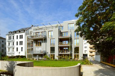 Wohngebäude Ostend, nieuwe mogelijkheden op een verborgen locatie