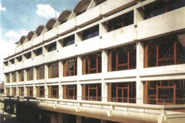AC Hasselt, brutalistisch erfgoed