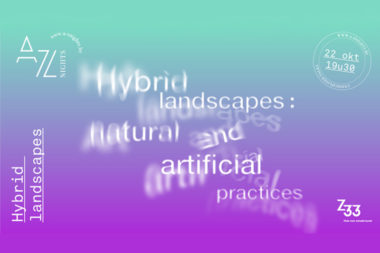 Hybrid landscapes: natural and artificial practices