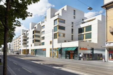 Baugenossenschaft Zurlinden innoveert in de Badenerstrasse